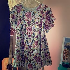 Urban Outfitters Floral Mini-Dress/Tunic